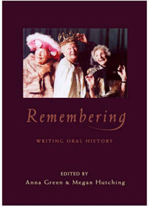 Anna Green and Megan Hutchings (eds), Remembering. Essays in New Zealand Oral History, Otago University Press, Dunedin, 2004.