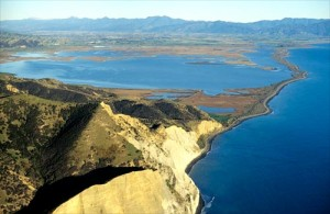 Wairau Lagoon, Wairau. Photo from http://www.teara.govt.nz