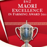 Ahuwhenua Trophy for excellence in Maori farming first introduced in 1933