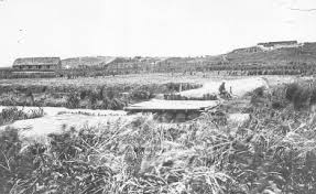 Rangiriri 1863,  just weeks after the battle.