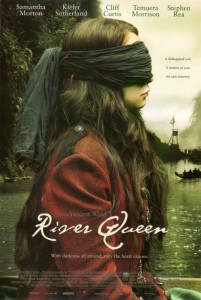 Poster of movie 'River Queen' shot on Whanganui River.