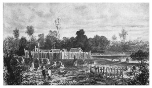 Boulcott's Farm, scene of fierce skirmish in 1846. Source: Te Ara.co.nz