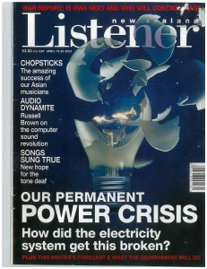Includes Danny's article on Gustavus Von Tempsky (Listener, April 19-2003, pp. 30-31), written as a tie-in to TV One documentary 'Von Tempsky's Ghost' (April 21 2003).
