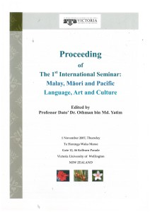 Paper on the history of Māori education presented to this conference (1 November 2007, pp. 62-70).
