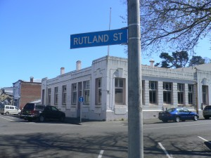 Using 'war and law' to subdue Māori - the old Native Land Court Building, Whanganui,  which stands beneath site of the Rutland Stockade.