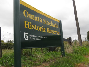 Omata Stockade historic site, near Omata / New Plymouth.