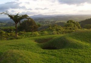 The Ruapekapeka Battle site, near Whangarei.