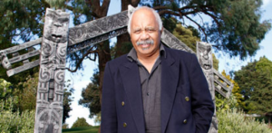 Buddy Mikaere, foremost Māori historian of the NZ Wars.