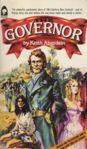 The Governor, the book written based on the tv series of the same name. Book and screenplay were both written by actor and author, Keith Aberdein.