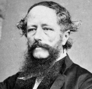 William Colenso (1811-1899), missionary printer and later explorer.