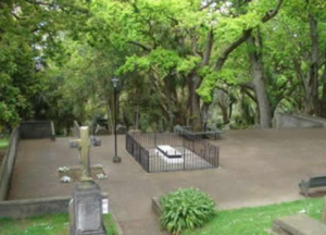 Hobson's Grave, Symonds Street cemetery, Auckland.
