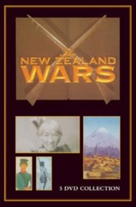The television series The New Zealand Wars, directed by Tainui Stephens, upon which the screen lecture series at Otaki are based.