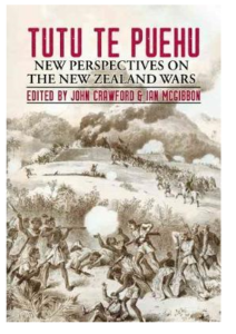 Tutu Te Puehu, New Perspectives on the New Zealand Wars, edited by John Crawford and Ian McGibbon, published by Steele Roberts Publishers, Wellington, October 2018. Danny has writen Chapter One, 'The Cause of this War is the Land', pp. 16-31 (see excerpt Above Right)